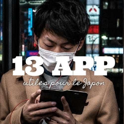 Applications utiles au Japon