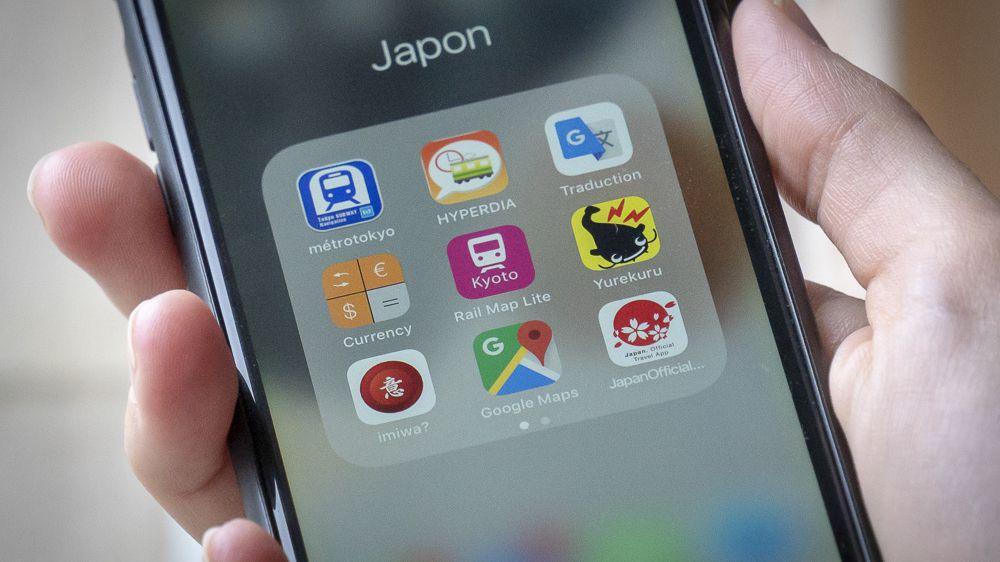 Les App's utiles au Japon