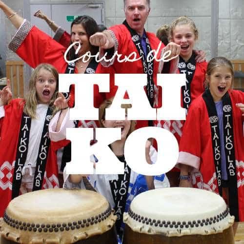 Découvrir le taïko, tambour japonais