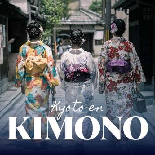 Kyoto en kimono