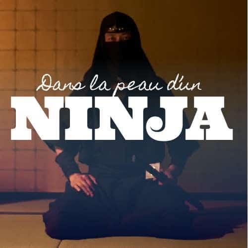 Dans la pêau d'un Ninja avec Au Fil du Japon, agence de voiyage au Japon
