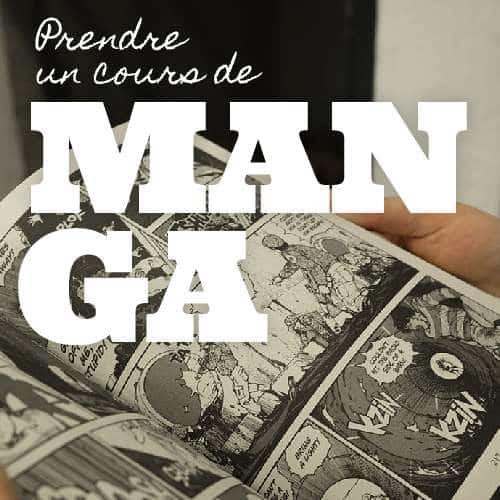 Prendre des cours de Manga