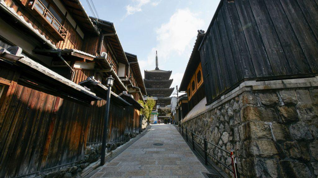 Les rues de Kyoto avec Au Fil du Japon, agencde voyage sur mesure au Japon