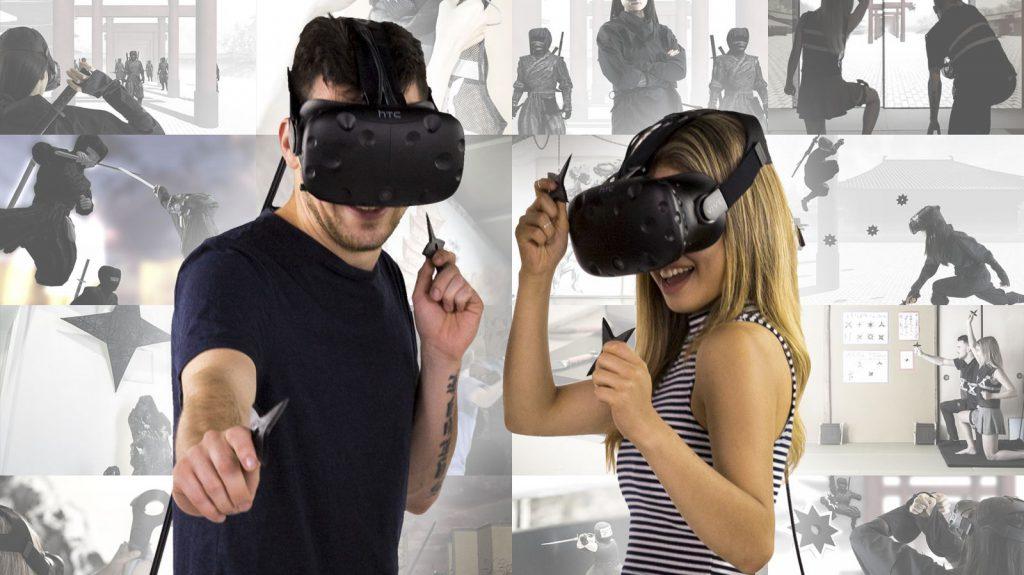 Séance de réalité virtuelle