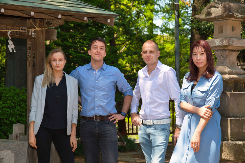 L'équipe de l'agence de voyages au Japon,  Au fil du Japon